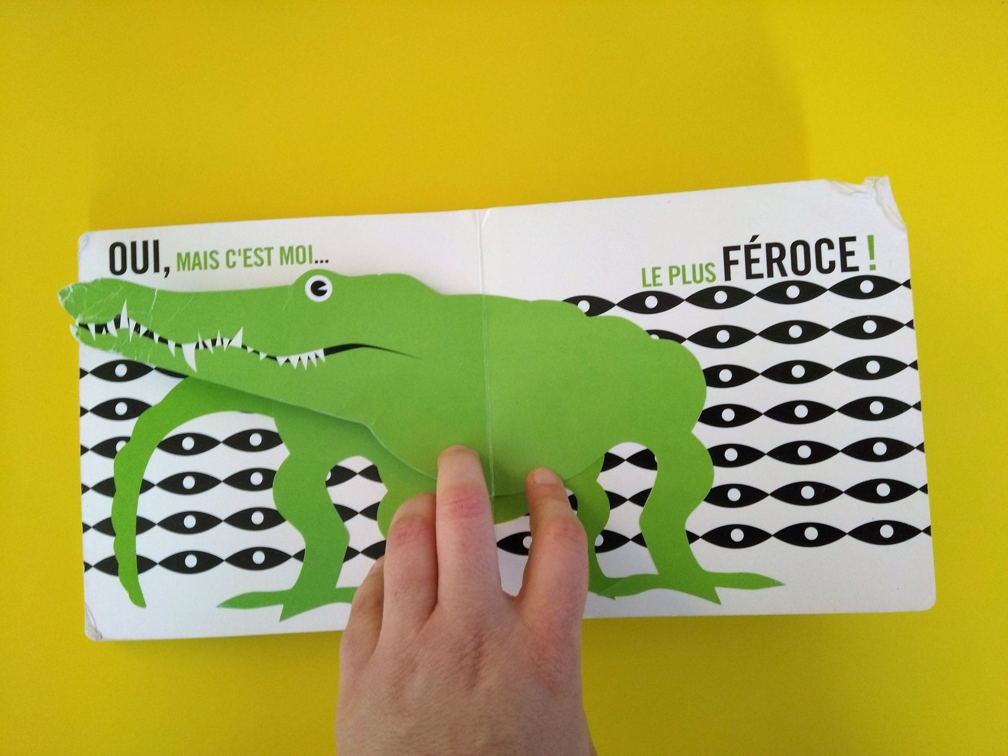 Crocodile dans Pop-up Zoo